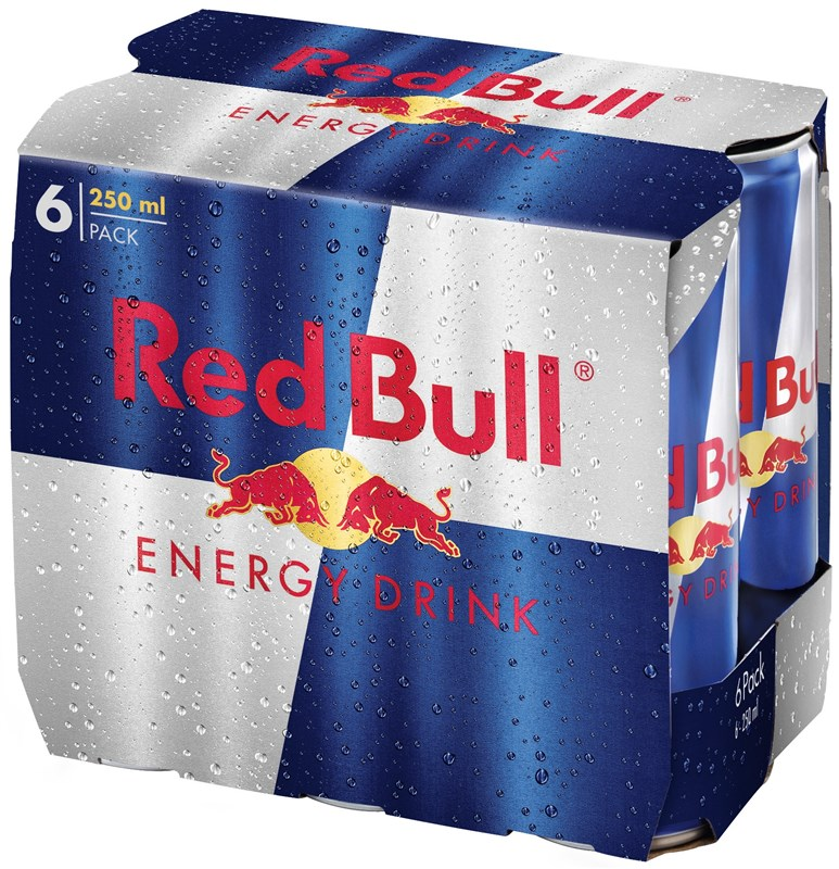 red bull bo te 6 pack jg 0 25cl boissons pour sportifs boissons corboz s a votre. Black Bedroom Furniture Sets. Home Design Ideas